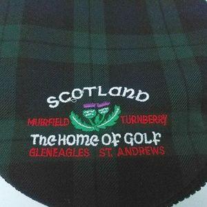 82606b31356 Ghillie of Scotland Accessories - GHILLIE Scotland HOME OF GOLF Tartan  Newsboy Cap